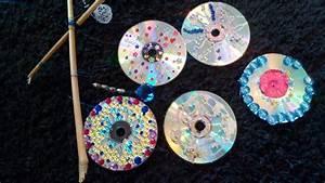 Mit Cds Basteln : ein mobile aus cds basteln diy how to make an easy mobile steemit ~ Frokenaadalensverden.com Haus und Dekorationen
