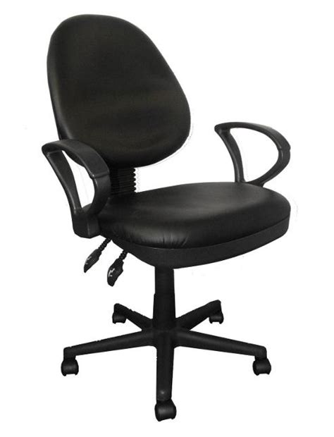 buy enduro high back leather operator chair without arms