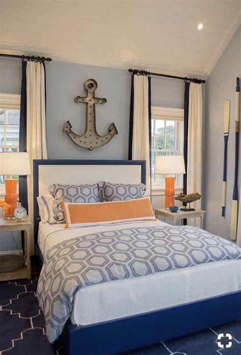 kids bedroom  guest room design idea powder blue walls