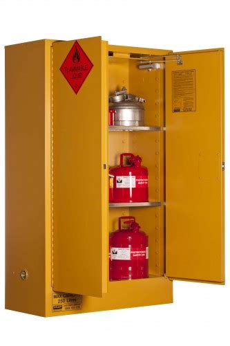 flammable liquid storage cabinet home depot pratt safety systems 250l flammable liquid storage cabinet