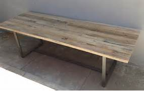 Modern Rustic Wood Dining Table by Reclaimed Wood Rustic Industrial Modern Farmhouse Style Indoor Outdoor Dini