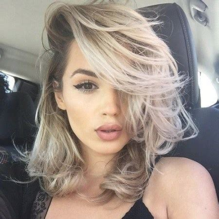 2018 Couleur Cheveux Noir Et Blond  Coupe Cheveux 2018