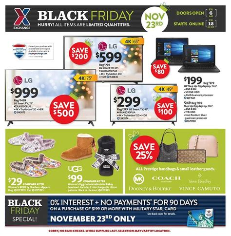 Aafes Exchange Black Friday 2018 Ads, Deals And Sales