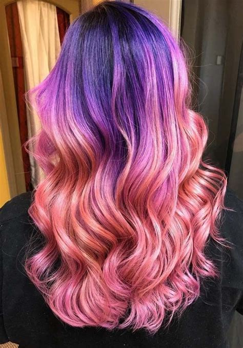 gorgeous pink hair colors  shadow roots