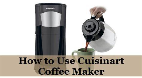 How to take care of your coffee maker and grinder? How to Use Cuisinart Coffee Maker - Coffee Lounge