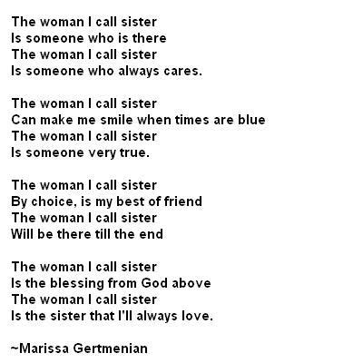 quotes  big sisters poems sister poem  brother  sister isters sister poems
