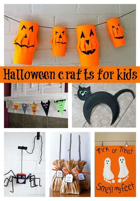 30 Halloween Craft Ideas For Kids  Pretty My Party