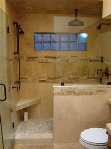 Bathrooms With Half Walls - DigsDigs