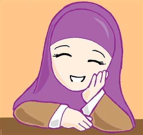 Sekolah Remaja Hamil Endar Wahyuni Gambar Kartun Cewek Sholihah Berjilbab