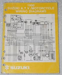 200suzuki Motorcycle Atv Wiring Diagram Models Y