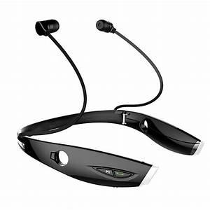 Wireless Bluetooth Headset Sport Stereo Headphone Earphone ...