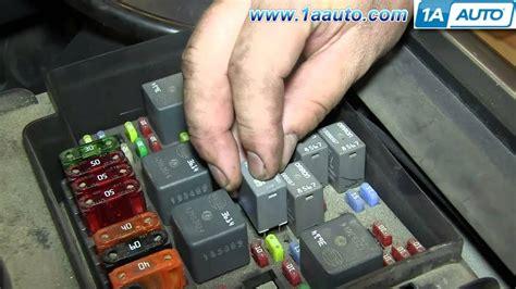 replacing  relay   gm truck suv silverado sierra