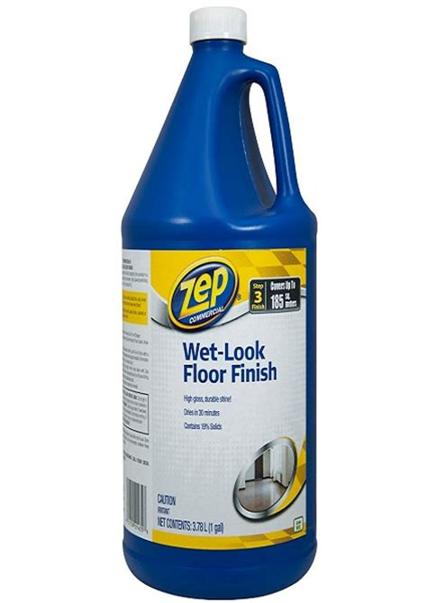 zep wet look floor finish cpi