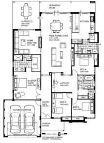 house plans with open floor plan open floor plan home designs wa country builders