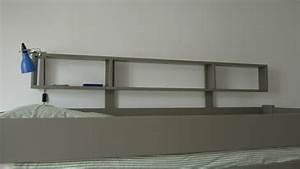 Table De Nuit Pour Lit Mezzanine : chevet pour lit superpos design en image ~ Teatrodelosmanantiales.com Idées de Décoration