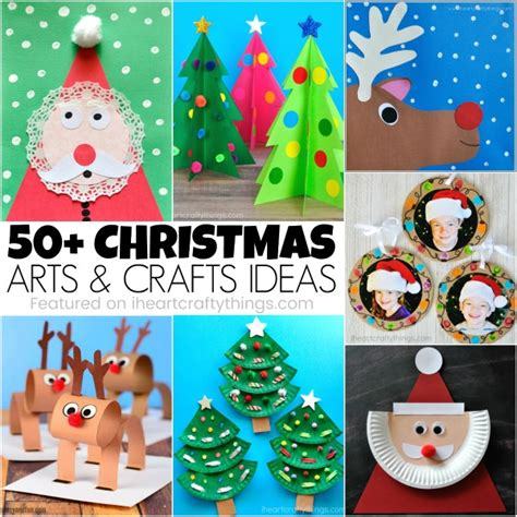 50+ Christmas Arts And Crafts Ideas  I Heart Crafty Things