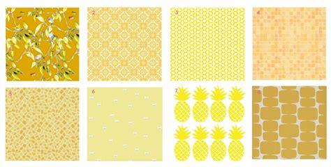 tapisserie de cuisine le jaune habille les murs maison créative