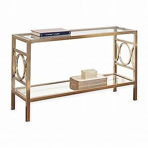 steve silver co olympia chrome glass sofa table bed With bed bath and beyond sofa table