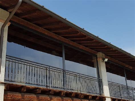 chiusura terrazzo pvc chiusura terrazzo con tende in pvc invernali per terrazzi