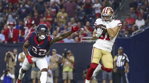 ers depth chart     worse     wide receiver niners nation