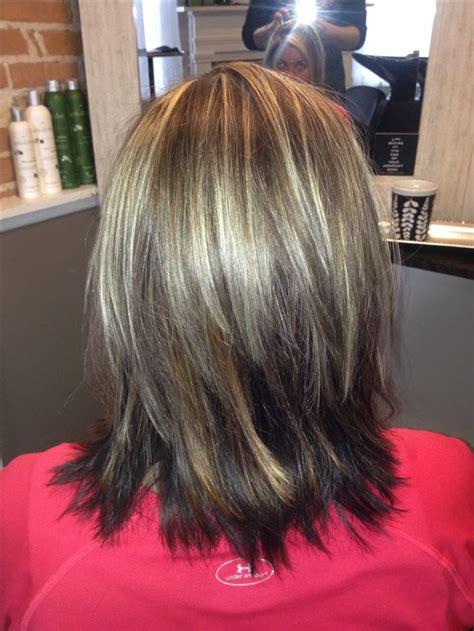 layers medium length hairstyle haircuts  hairstyles