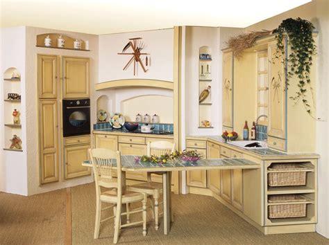 cuisine provencale blanche idee decoration cuisine provencale