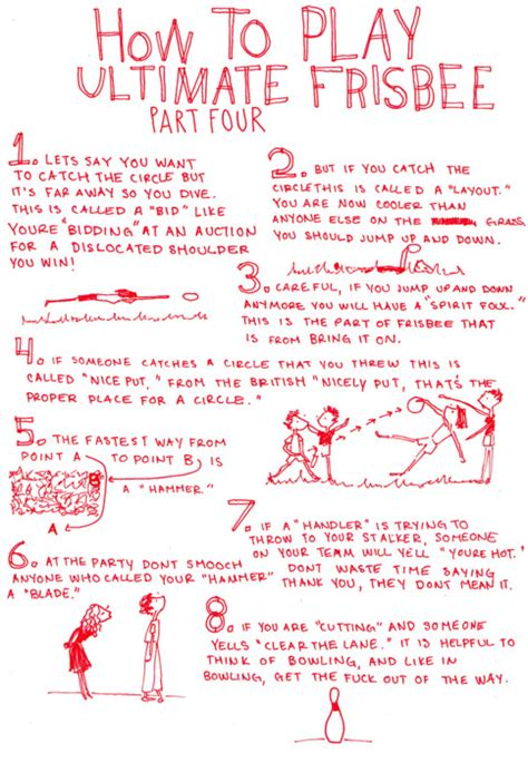 How To Play Ultimate Frisbee, The Complete Set
