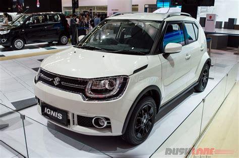 Suzuki Ignis Hd Picture by India Bound Suzuki Ignis With Amt Showcased At Giias