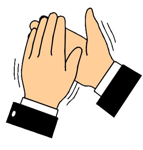 clapping hands clip art  clkercom vector clip art