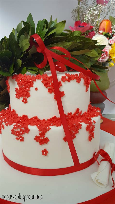 torta  laurea nonsolopanna