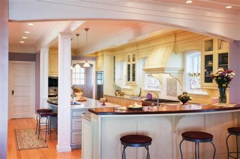 Modern Kitchen Design Bar For Breakfast Idea Design