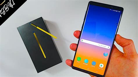 samsung galaxy note 9 after the hype unboxing review