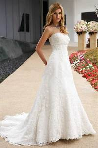 glamorous a line sweetheart floor length summer lace up With summer lace wedding dress