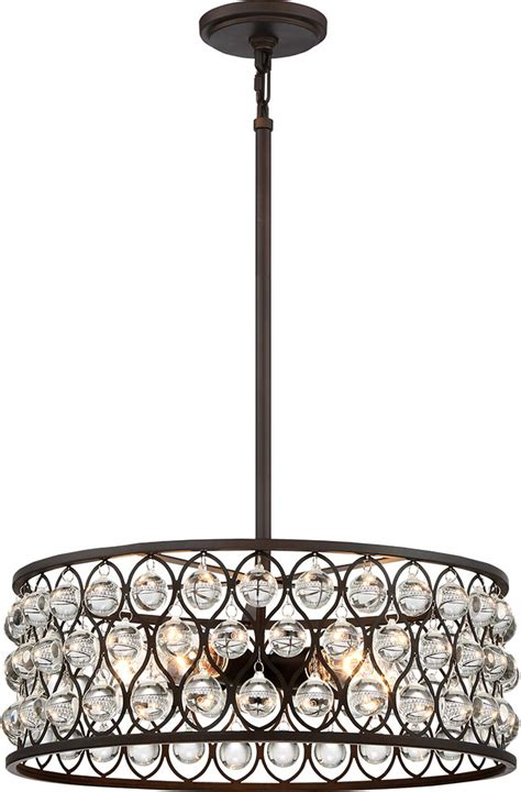 pendant drum light quoizel ax2820pn alexandria contemporary palladian bronze