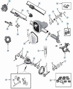 Jeep Front Axle Diagram
