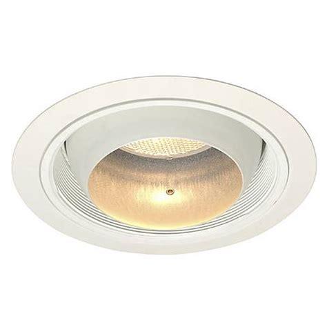 juno recessed lighting juno 6 quot line voltage eyeball recessed light trim 02506