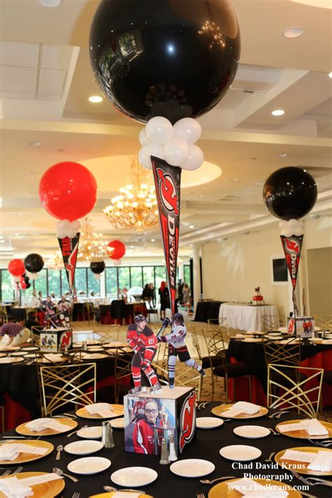 sports centerpieces for tables hockey themed centerpiece hockey themed centerpiece with