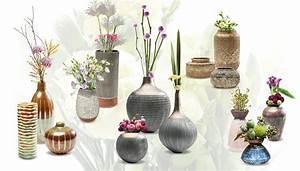 Silberne Deko Vasen : decorar f cilmente con floreros kare panama ~ Indierocktalk.com Haus und Dekorationen