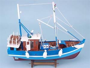 Blue Fishing Boat SDL IMPORTS LTD