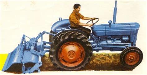fordson dexta and dexta tractor service workshop manual parts manual