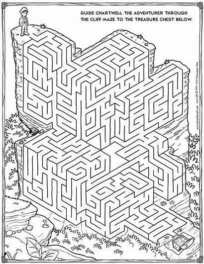 Maze Mazes Printable Puzzles Logic Christmas