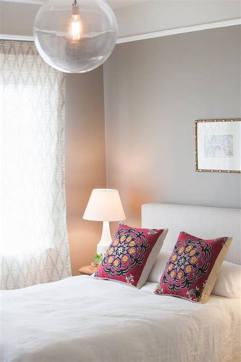 two tone bedroom with chair rail two tone walls design ideas