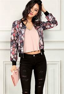 Silk bomber jackets outfits for women - jackets in my home