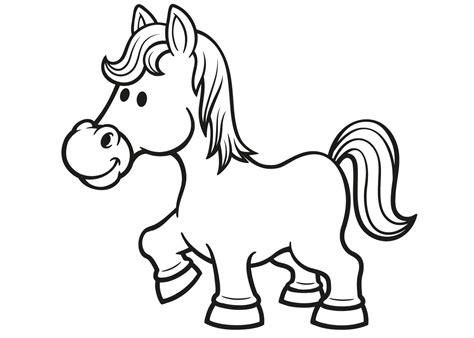 Springend Paard Kleurplaat by De 40 Allerleukste Paarden Kleurplaten Voor Kinderen