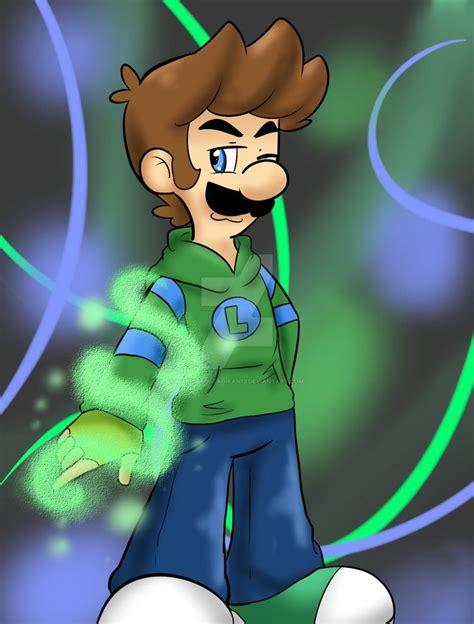 Cool Luigi By Mariobrosyaoifan12 On Deviantart Luigi