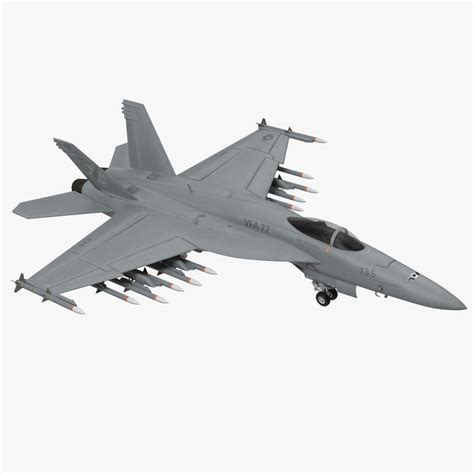 3d Fighter Fa 18ef Super Hornet