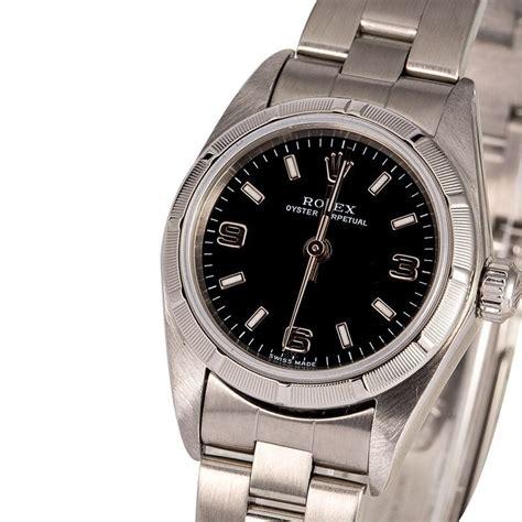 Women's Rolex Datejust 76030 Black Arabic