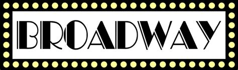 Broadway Clipart Sign Clipart Broadway Pencil And In Color Sign Clipart