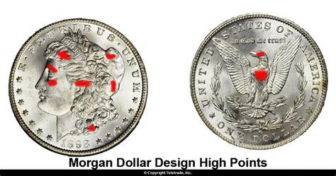 grade morgan dollars guide  photo examples