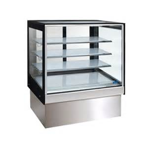 Kitchen Cart With Stainless Steel Top by Williams Topaz Cake Amp Cold Food Display Fridge
